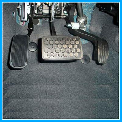 Inversão de Pedal  Escamoteável